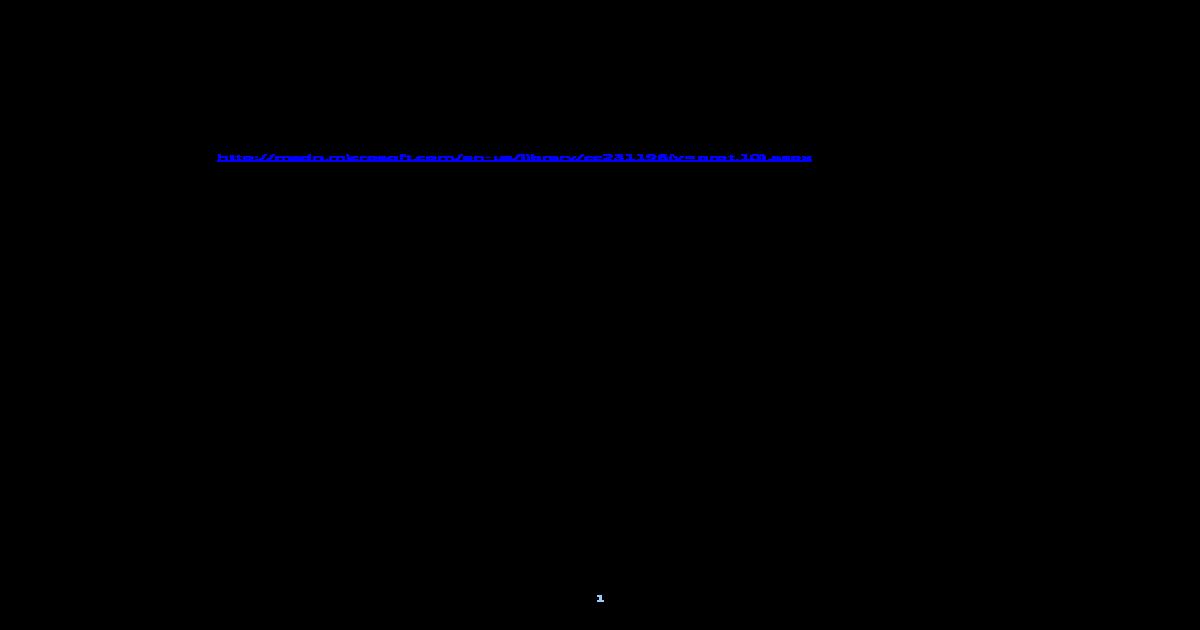 Windows Error Codes (MSDN) - [PDF Document]