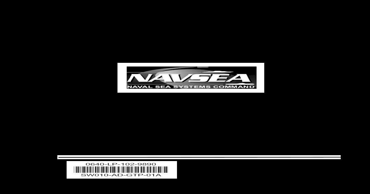 NAVSEA SW010-AD-GTP-010 TM Small Arms Special Warfare