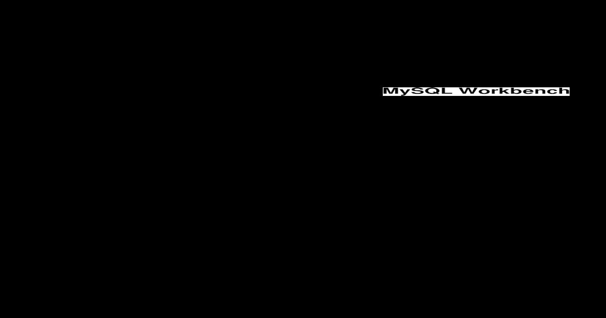Mysql Workbench - [PDF Document]
