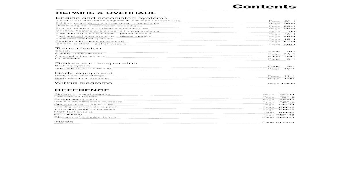 manual reparatii Volvo S40 &V50_2004-2007 Petrol&Diesel