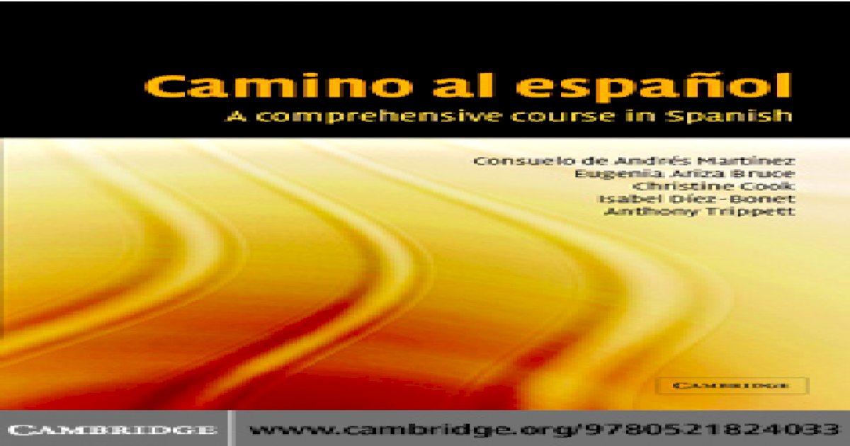 A comprehensive course in spanish - [PDF Document]