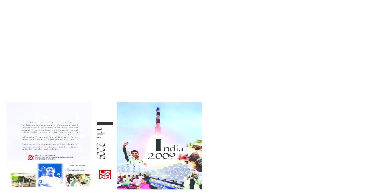 India Yearbook 2009 Pdf Document