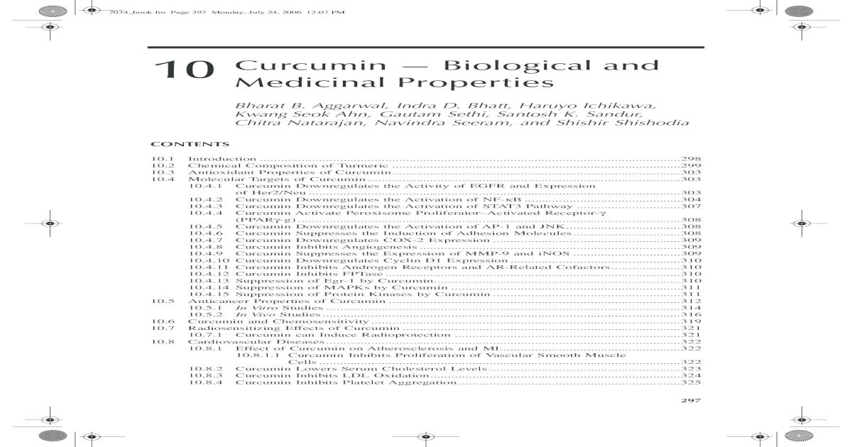 Curcumin _ Biological and Medicinal Properties - [PDF Document]