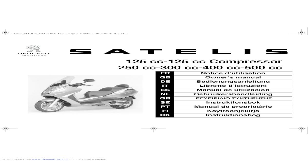125 cc-125 cc Compressor 250 cc-300 cc-400 cc-500 cc cc