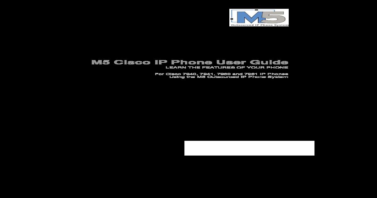 m5 User Guide Cisco 794x 796x 6 0 2007 02 SCCP Non-booklet