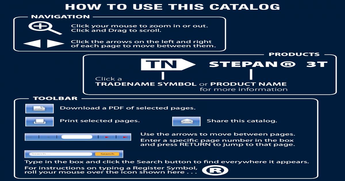 Productos Stepan - [PDF Document]