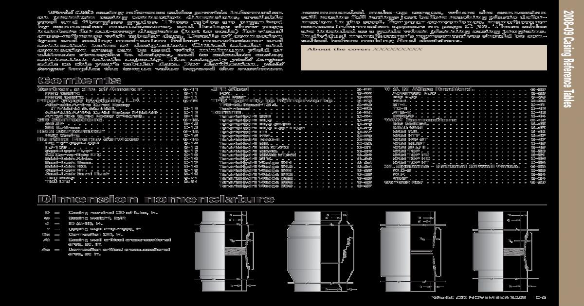 CasingTables_2008 - [PDF Document]