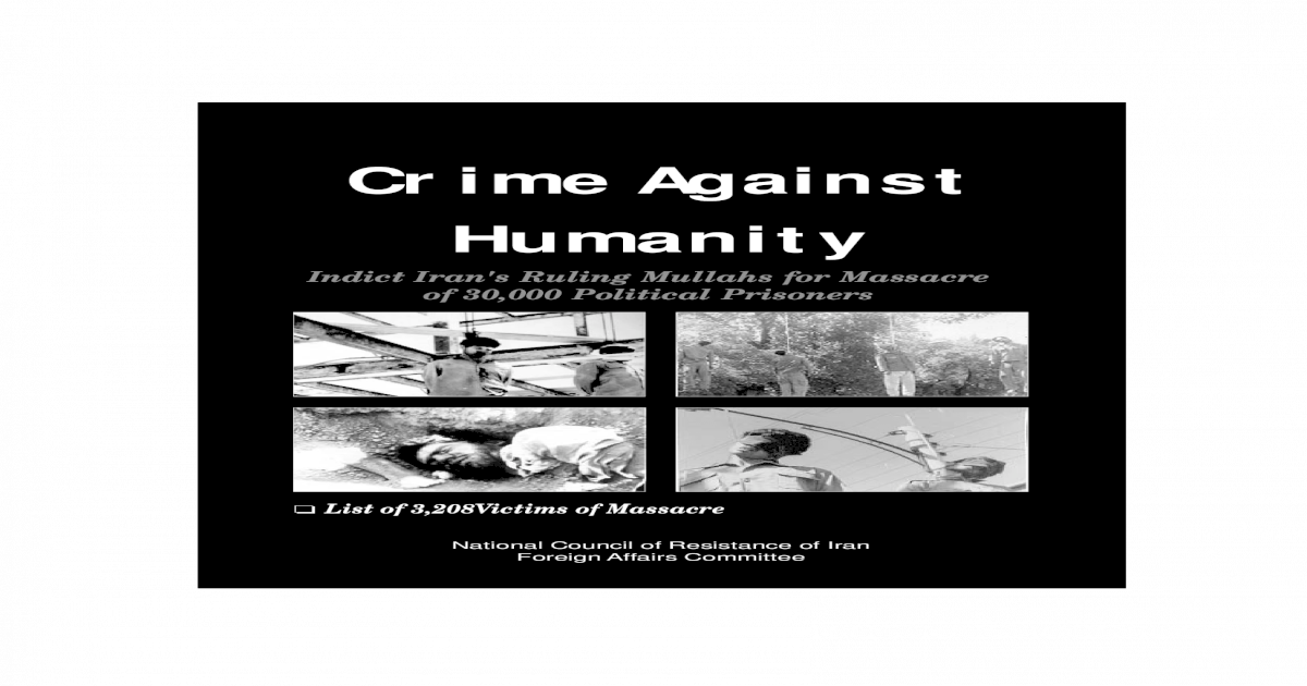 Crime Against Humanity - [PDF Document]