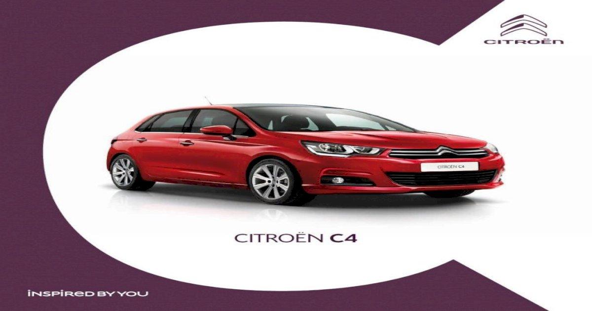 Citroen New C4 Brochure Pdf