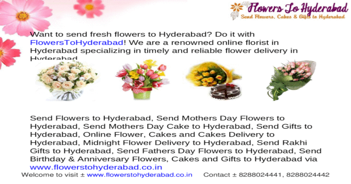 Send Flowers to Hyderabad - [PPT